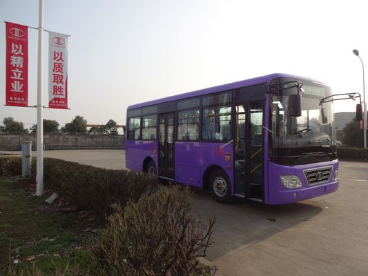 China Lage Vloer Interlokale Bussen 48 Seater-Bussen 3300mm Wielbasis verdeler